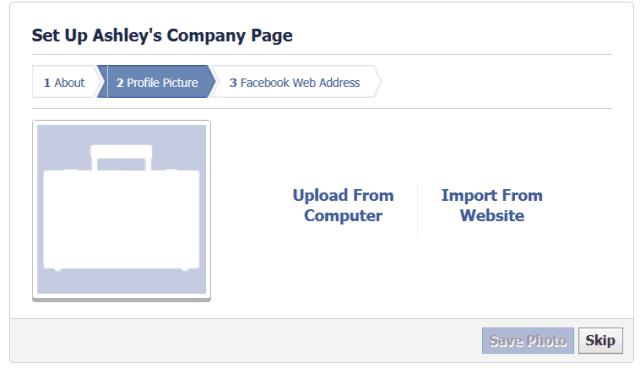 Facebook Step 5