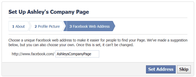 Facebook Step 6