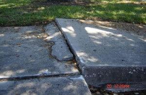 Uneven Sidewalk